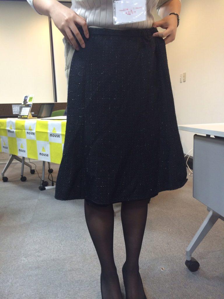 セットアップスカート画像