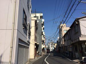 下町の街並み画像