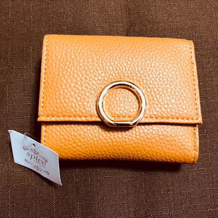 Jewel VOX がま口三つ折り財布