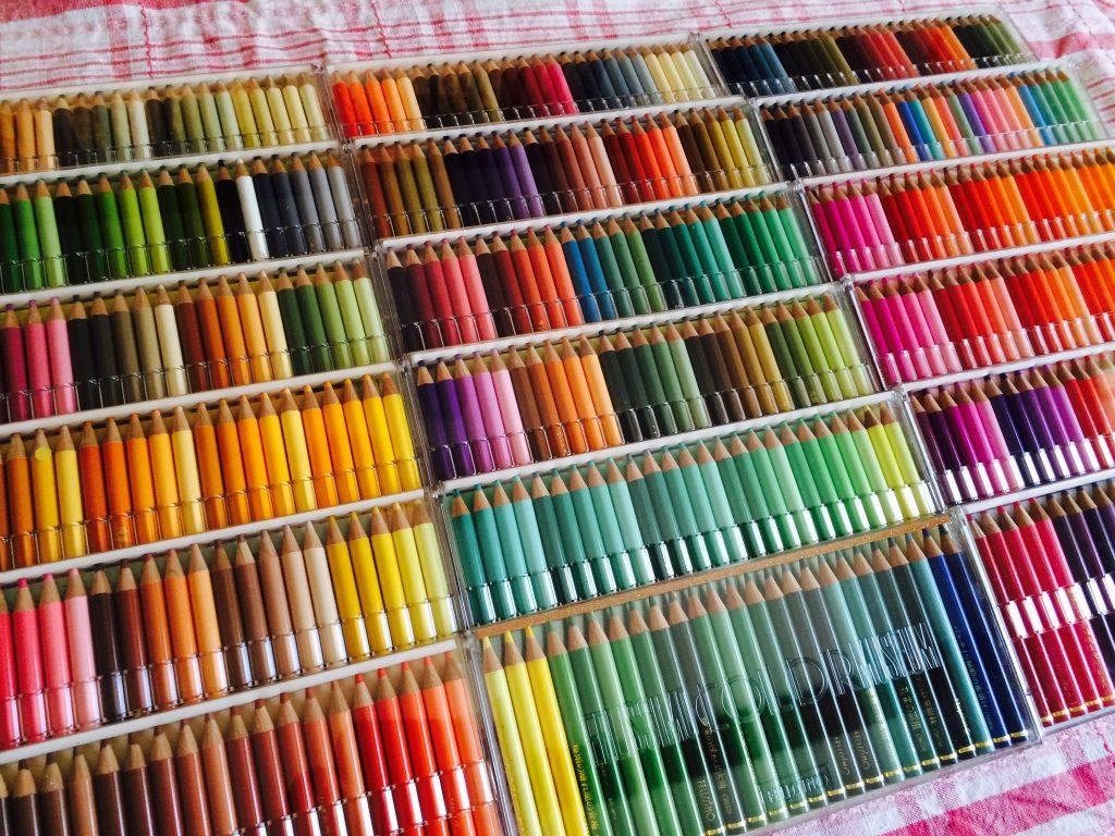500色の色鉛筆2
