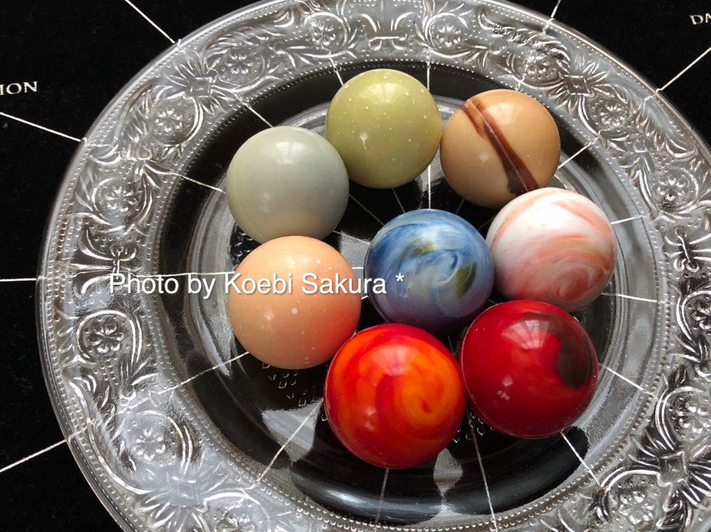8惑星ショコラのアップ